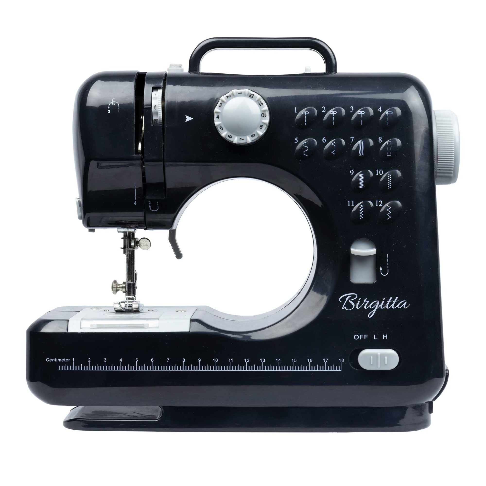 Birgitta Sewing Machine, Standard Dark Grey