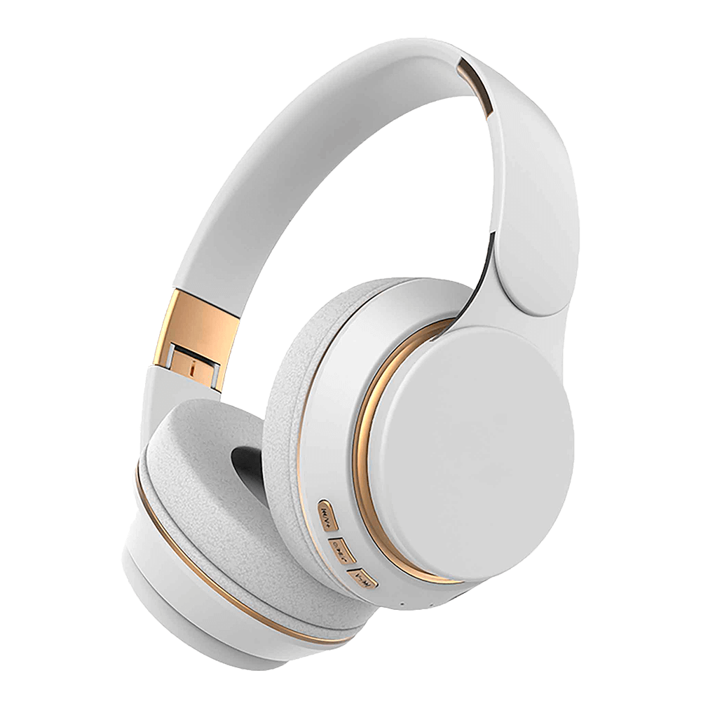 Kuura Bass Cuffie Wireless, Bianca