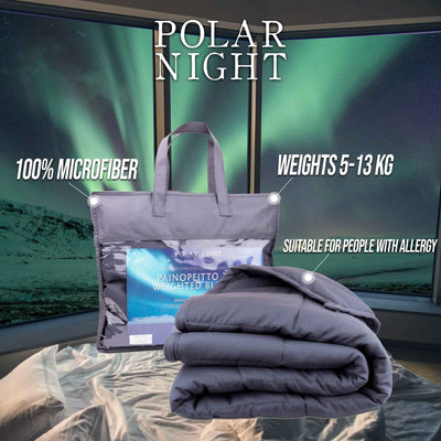 Polar Night Weighted Blanket 5-13kg, 150x200cm