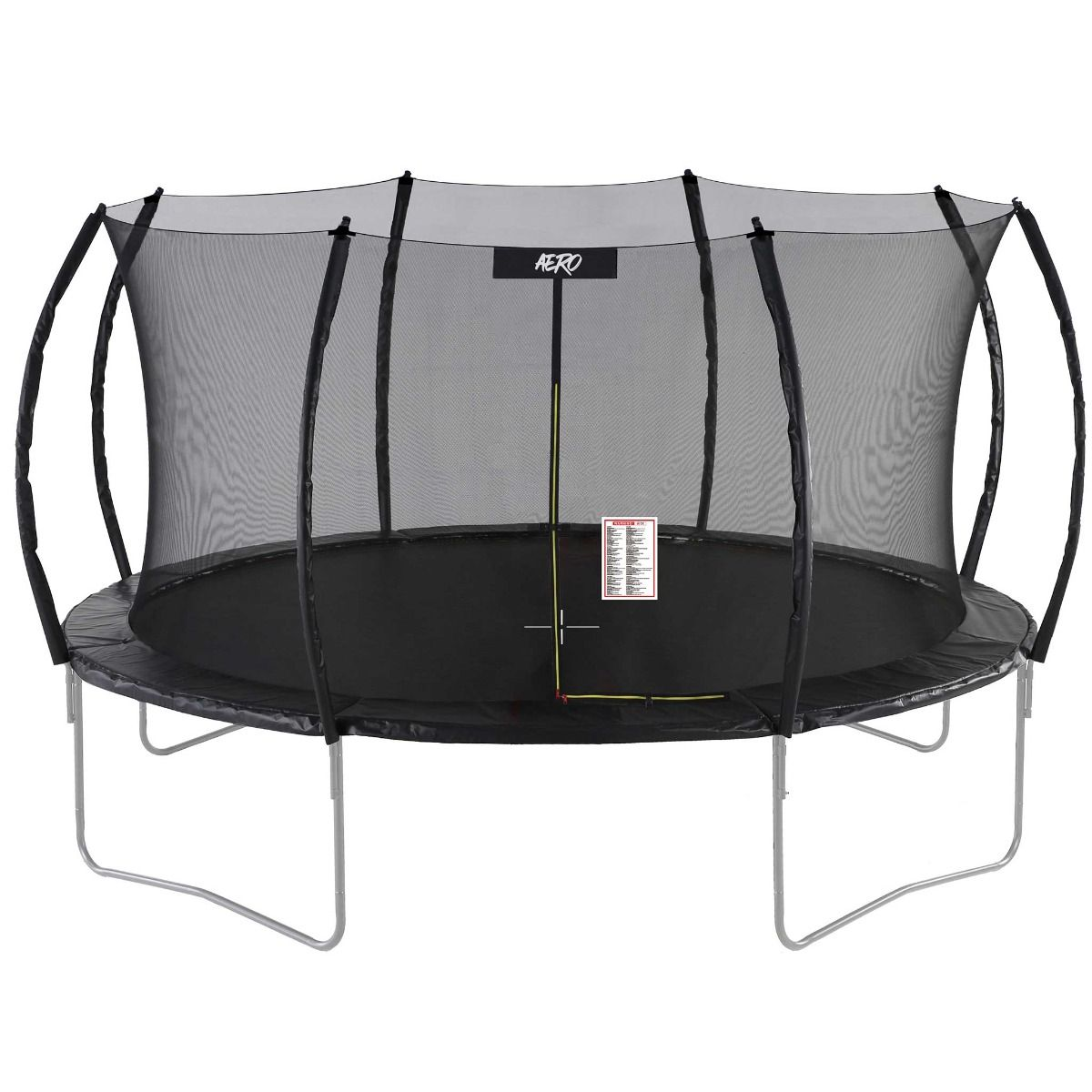 React Aero Trampoline 3,96m with a Safety Net