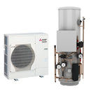 Mitsubishi Ecodan 5kW Monobloc Air Source Heat Pump with Pre-Plumbed Standard Cylinder