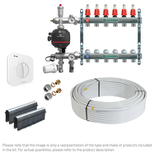 20m2 ECO Water Underfloor Heating Kit