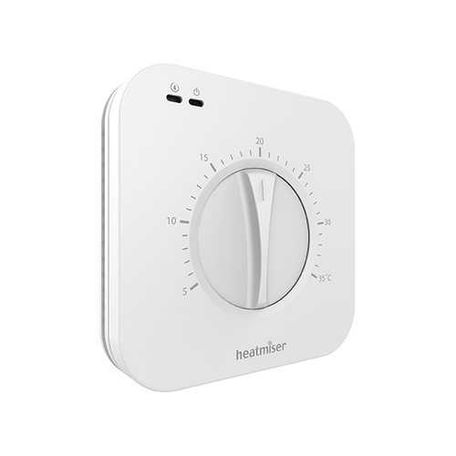 Heatmiser Surface Mount Dial Thermostat