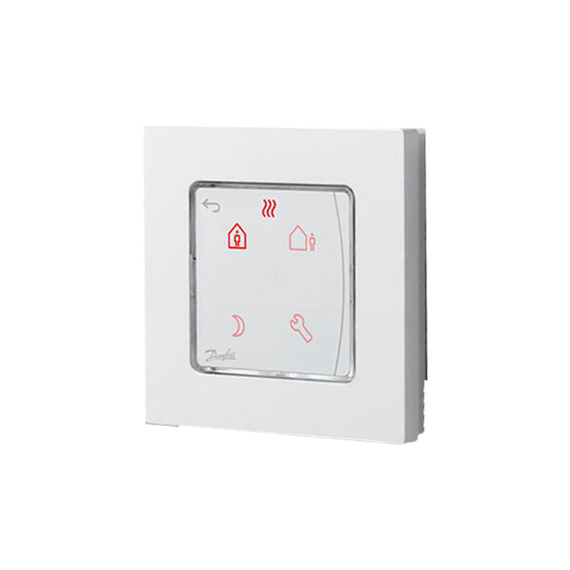 Danfoss Icon Room Thermostat, Wireless, Infrared, Display On-wall