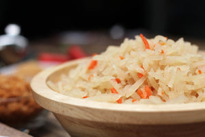 Cooked Turnips & Carrots 薄饼菜 • cny