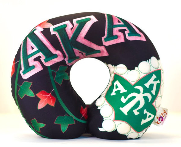 Alpha Kappa Alpha Large Letters in Black
