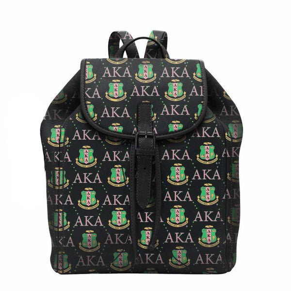 (BACKPACKS) AKA Leather Small Symbols Custom Small Backpack (PRE-ORDER SALE ONLY)
