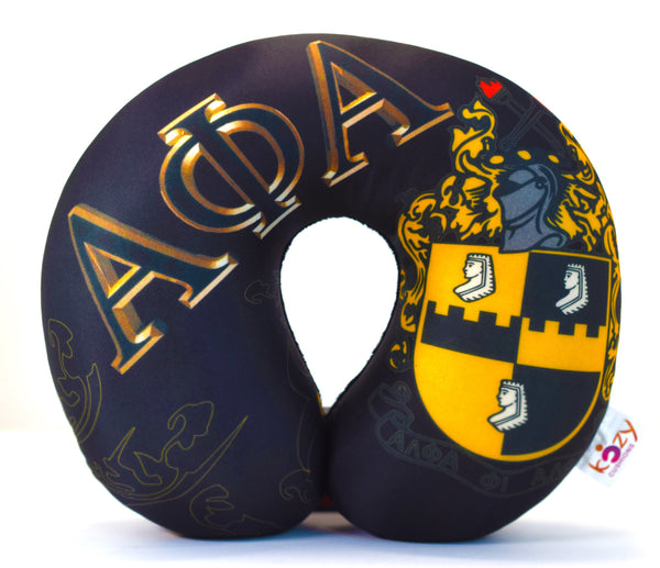 Alpha PHI Alpha Large Letters Black CLOSEOUT SALE!