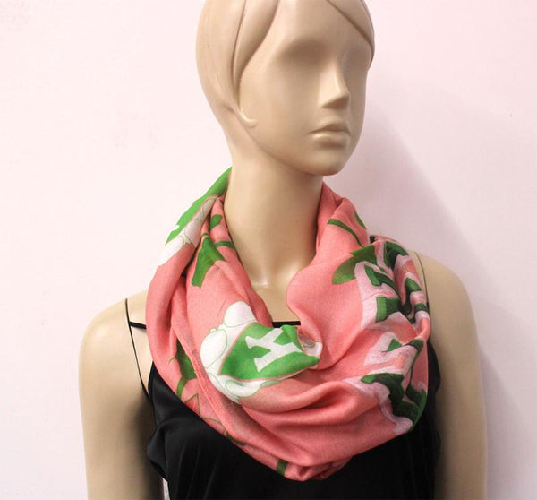 *Infinity Scarf AKA  (Large Symbols) HOLIDAY PRE-ORDER ONLY!