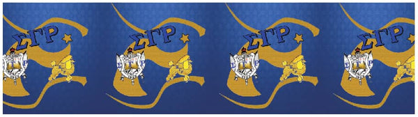*Infinity Scarf SGRHO  (Large Symbols) HOLIDAY PRE-ORDER ONLY!