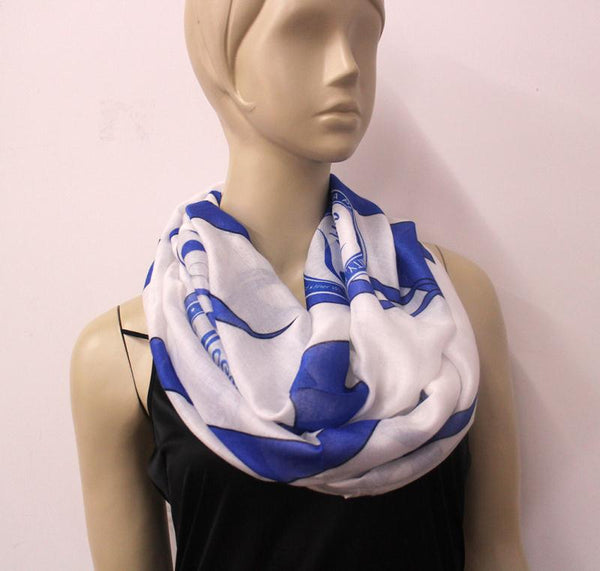 *Infinity Scarf ZETA  (Large Symbols) HOLIDAY PRE-ORDER ONLY!