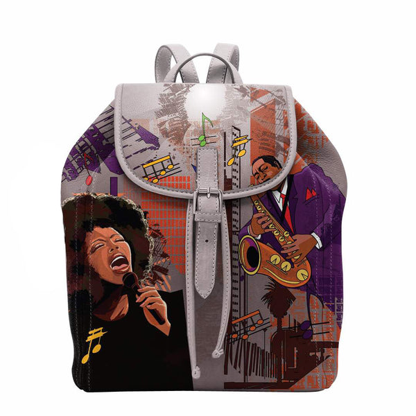 "(BACKPACKS) ALL THAT JAZZ Backpack/Laptop Bag ""NEW ORLEANS STYLE"""