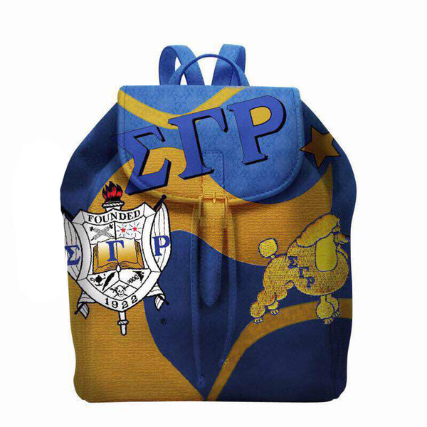 (BACKPACKS) SGRHO Custom Small Backpack (PRE-ORDER SALE ONLY)