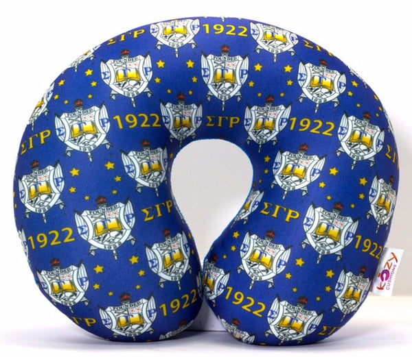 SIGMA GAMMA RHO SORORITY EXECUTIVE STYLE IN BLUE