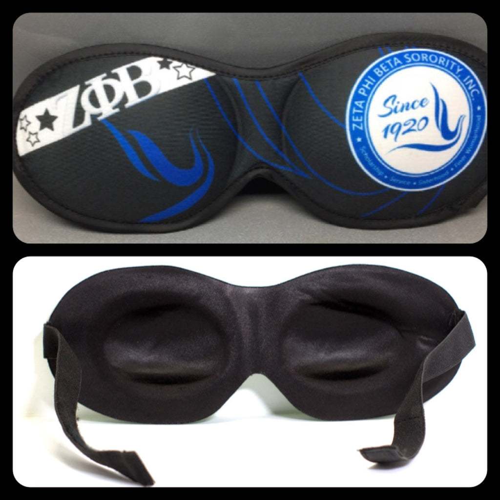 Zeta Eye-Mask in Black