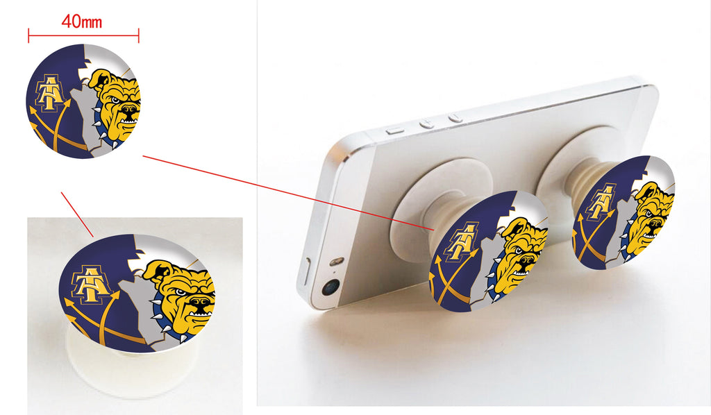 North Carolina A&T University pop-sockets w car/wall mount