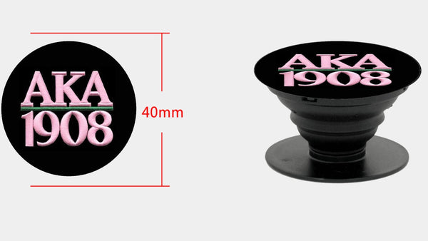 *Pop-sockets w car/wall mount AKA 1908 in pink & black