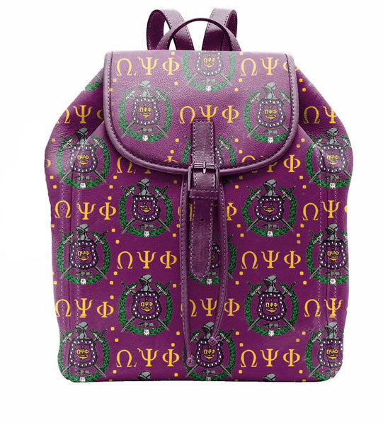 "(BACKPACKS) OMEGA PSI PHI Backpack/LAPTOP BAG ""TRADITIONAL"""