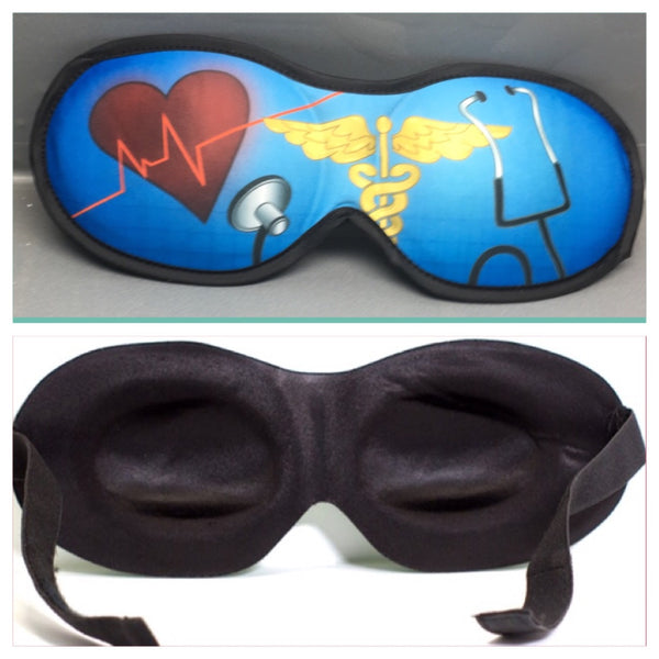 Medical Heart with Stethoscope Kozy Eye-Mask