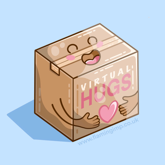 Box of Virtual Hugs