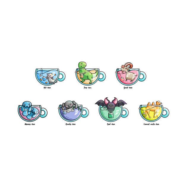 Tea Puns Collection