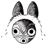 Princess Mononoke mask