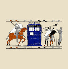 Tardis in the Bayeux Tapestry