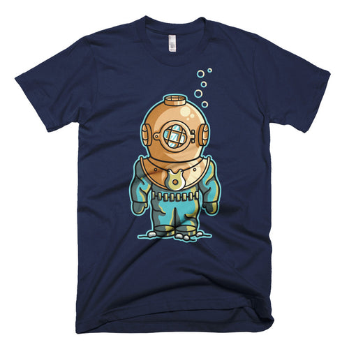 Deep Sea Diver Cotton Crewneck T-Shirt