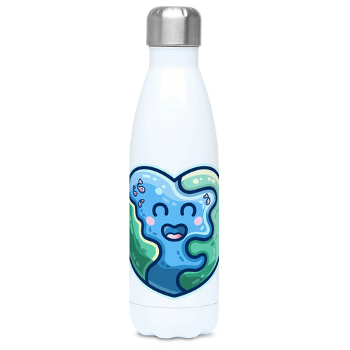 Earth Heart Kawaii Cute Drinks Bottle