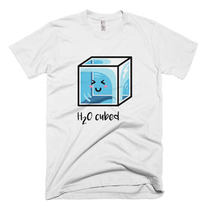 H20 Cubed Science Joke Kawaii Cute T-Shirt