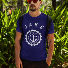 Ship's Captain personalised t-shirt
