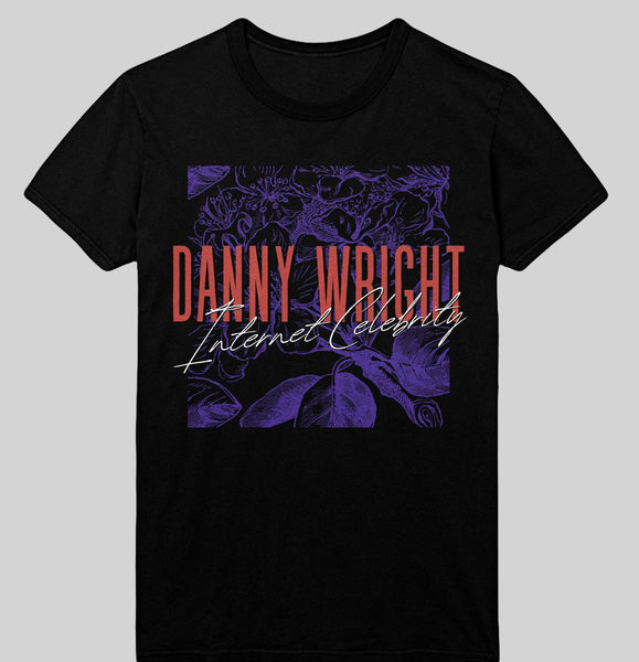 Danny Wright - Internet Celebrity T-Shirt (Black/Red/Purple)