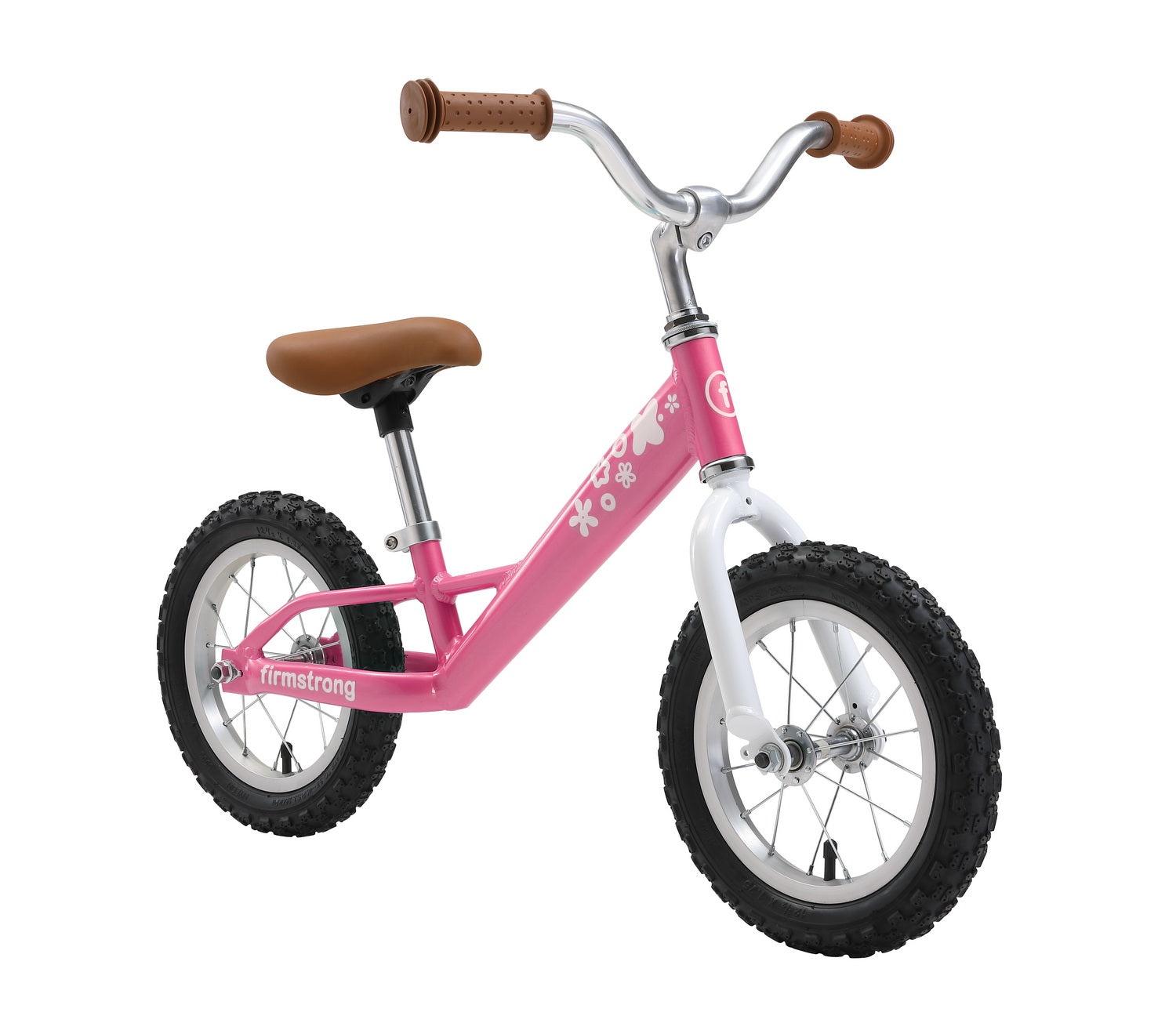 Firmstrong Balance Bike No Pedal Bicycle With Air Tires Kids 2 3
