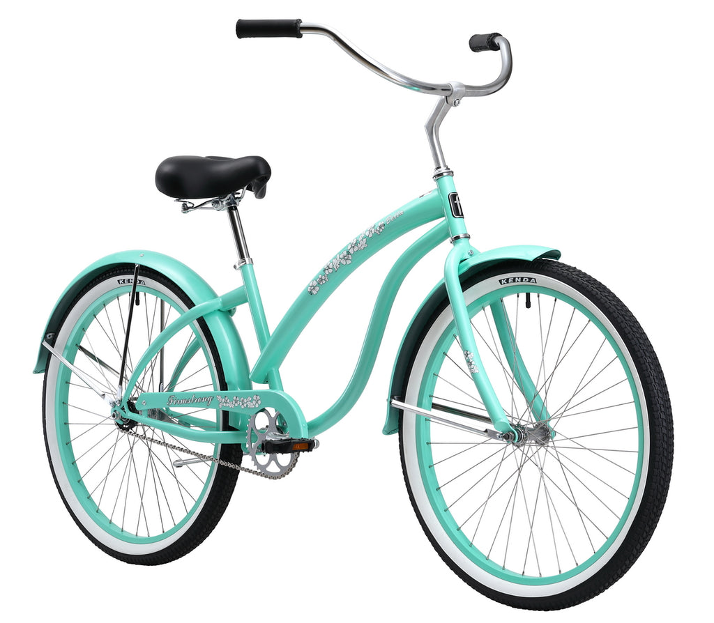 "Firmstrong 24"" Bella Classic Single Speed - Women's Beach Cruiser Bike"