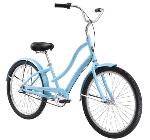 "Firmstrong CA-520 Alloy 3 Speed - Women's 26"" Step-Through Hybrid Cruiser Bike"