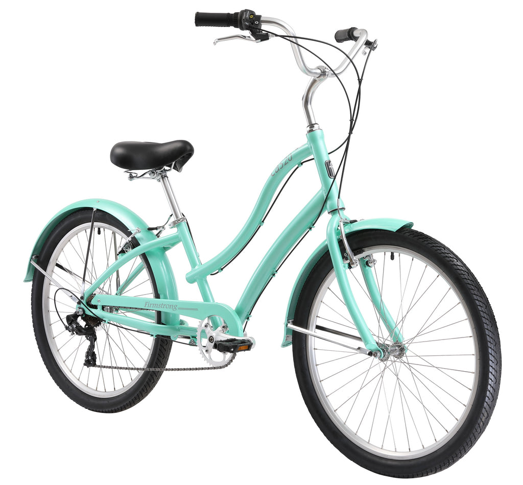 "Firmstrong CA-520 Alloy 7 Speed - Women's 26"" Step-Through Hybrid Cruiser Bicycle"