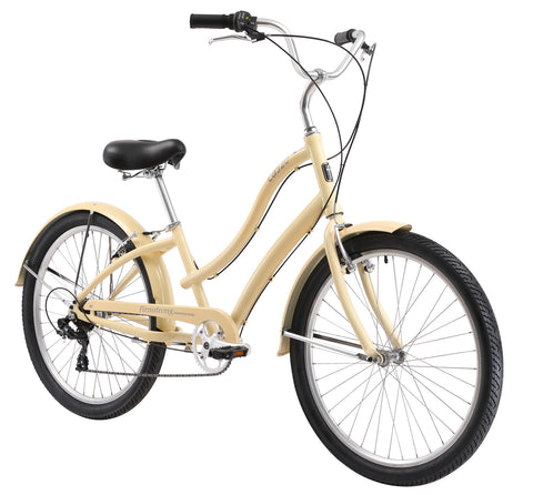 "Firmstrong CA-520 Alloy 7 Speed - Women's 26"" Cruiser Bicycle"