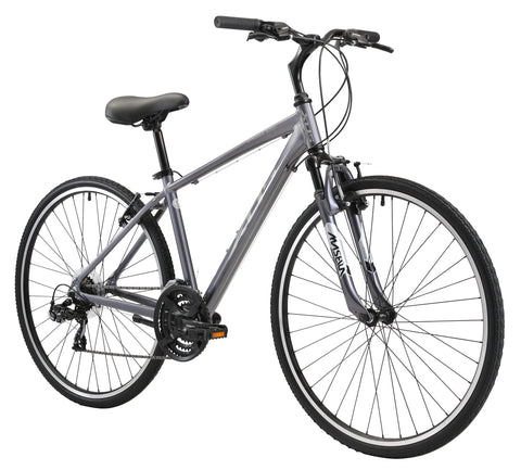 XDS Cross200 21sp Men's 700C Hybrid City Commuter Bike //  Graphite