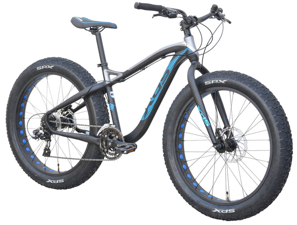 XDS Qattara  24 speed Fat Tire Mountain bike //  Fat Tire Adventure Bike