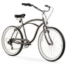 "Firmstrong 26"" Urban Man 7 Speed - Men's Beach Cruiser Bike"