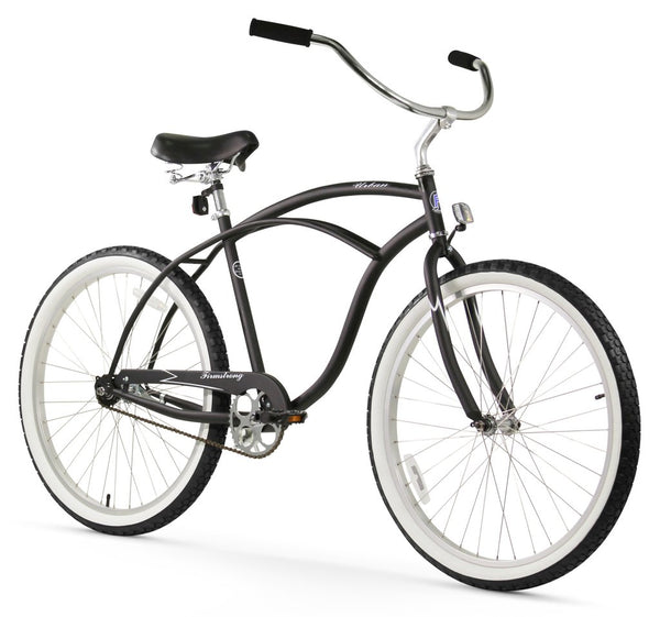 "Firmstrong 26"" Urban Man Single Speed - Men's Beach Cruiser Bike"