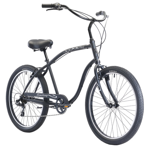"Firmstrong Chief 7 Speed - Men's 26"" Beach Cruiser Bike"