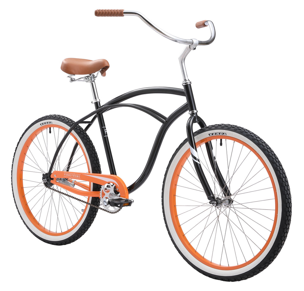 "Firmstrong 26"" Urban Special Edition Man Single Speed - Men's Beach Cruiser Bike"