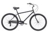"Firmstrong Black Rock 7 Speed, Matte Black - Men's 29"" Beach Cruiser Bike w/ Heavy Duty Wheel"