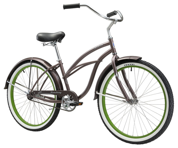 "Firmstrong 26"" Urban Boutique Single Speed - Women's Beach Cruiser Bike"