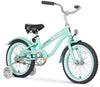 "Firmstrong 16"" Mini Bella Girl Beach Cruiser Bicycle w/ Training Wheels"