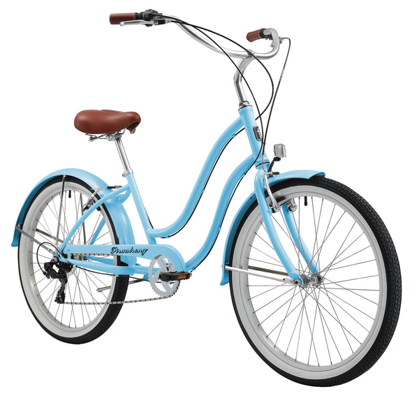"Firmstrong Siren Lady 7 Speed - Women's 26"" Beach Cruiser Bike"