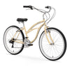 "Firmstrong Urban Woman 26"" 21 Speed Beach Cruiser Bicycle"