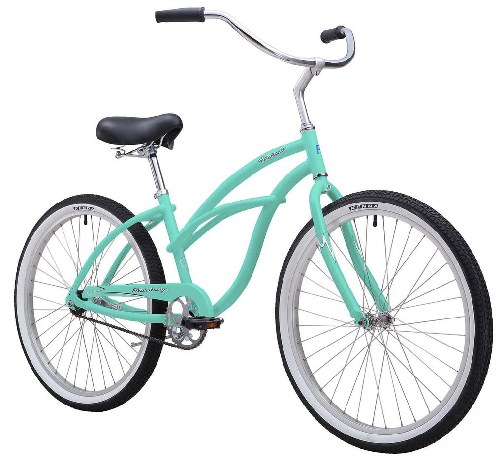 "Firmstrong Urban Lady Aluminum Single Speed - Women's 26"" Beach Cruiser Bike"