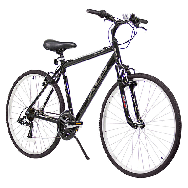 XDS Cross 200  21sp Hybrid City Commuter Bike //  Jet Black